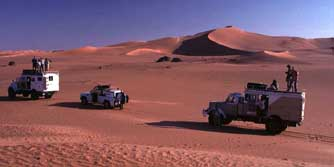 W�ste, Ost-Sahara, Libyen: Geographie-Exkursion - Mit Expeditions-LKWs durch die Sandd�nen